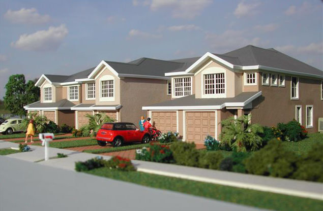 Carriage homes for pulte homes jacksonville fl